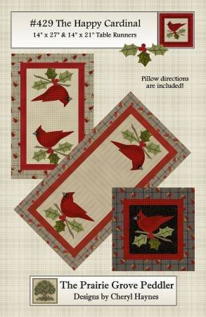 THE HAPPY CARDINAL PATTERN