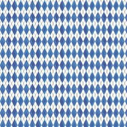 FRUIT STAND - BLUE ARGYLE