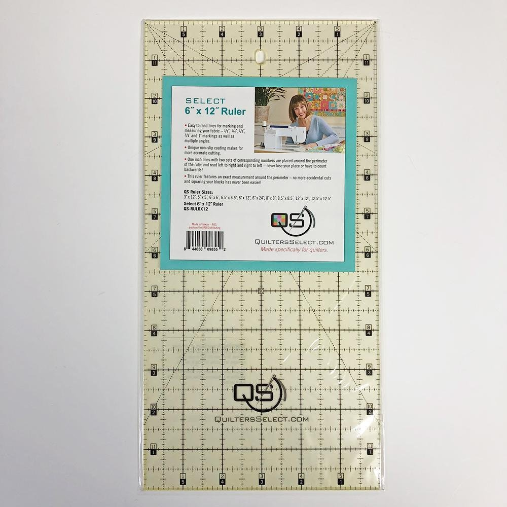QUILTER'S SELECT 6x12 RULER