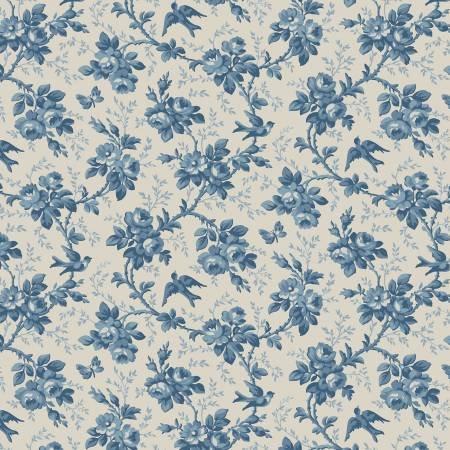 BOUNTIFUL BLUES - BLUE FLORAL