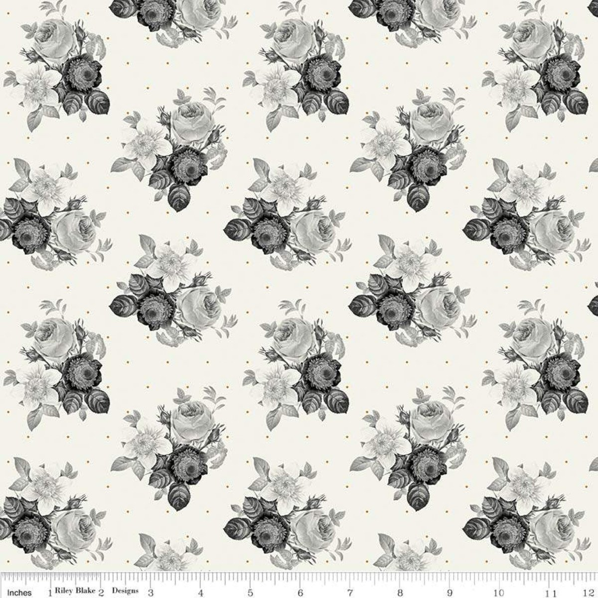 IN BLOOM - CREAM FLORAL