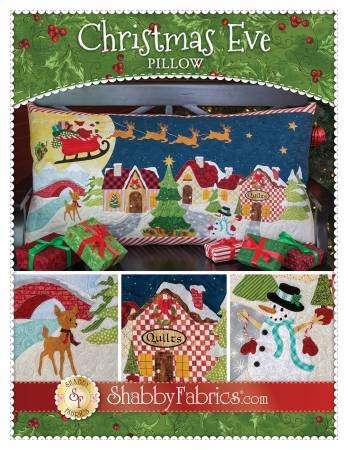 CHRISTMAS EVE PILLOW