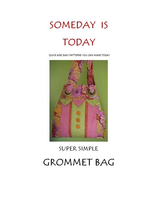 Super Simple Grommet Bag - digital