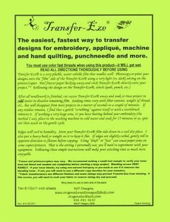 TRANSFER-EZE PAPER 10 CT