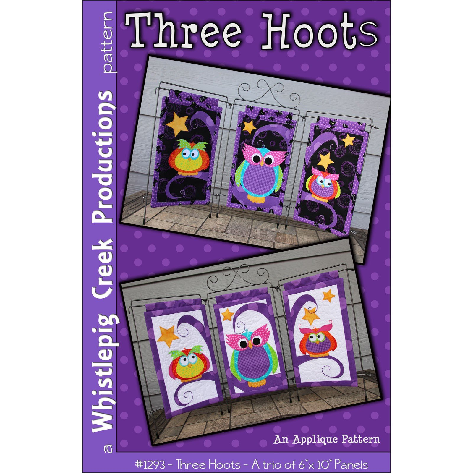 THREE HOOTS PATTERN