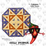 CALYPSO TABLE TOPPER PATTERN