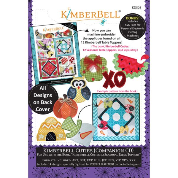 KIMBERBELL CUTIES - COMPANION EMBROIDERY CD