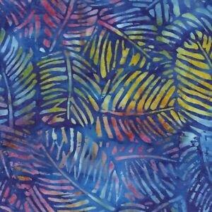 WILMINGTON BATIKS - BLUE/LEAF