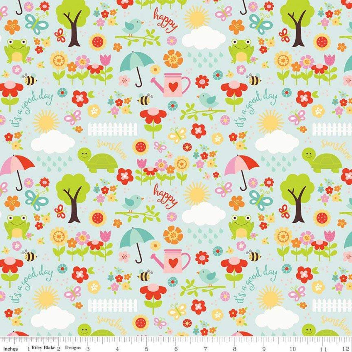 Bloom April Showers Flannel