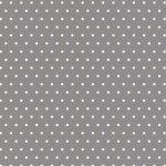 Grumpy Cat Polka Dot Flannel Grey