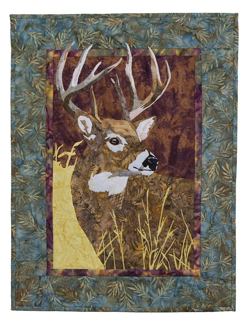 White Tail Delight Fabric Kit with Pattern
