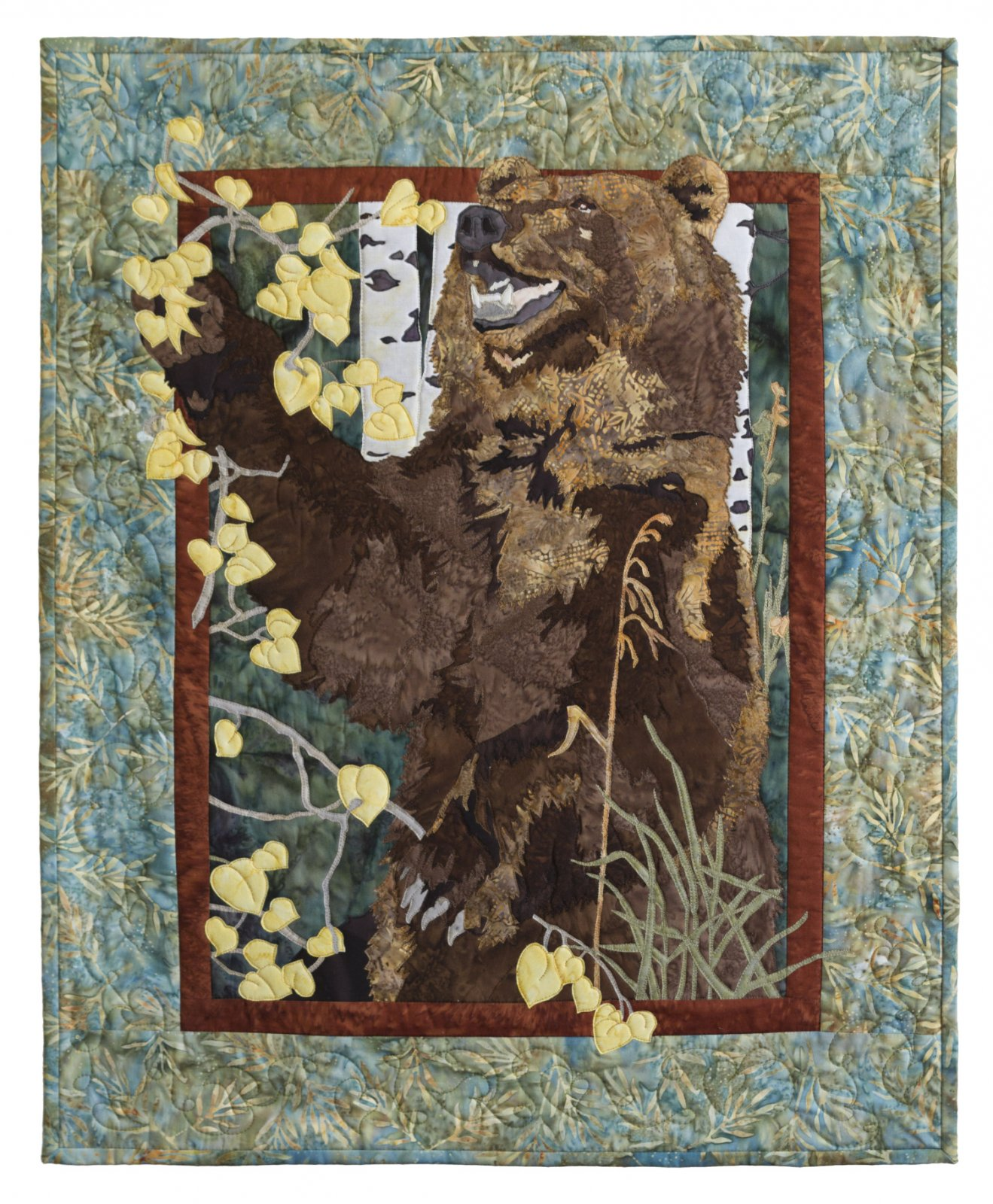 Grizzly in the Aspens Kit with Pattern