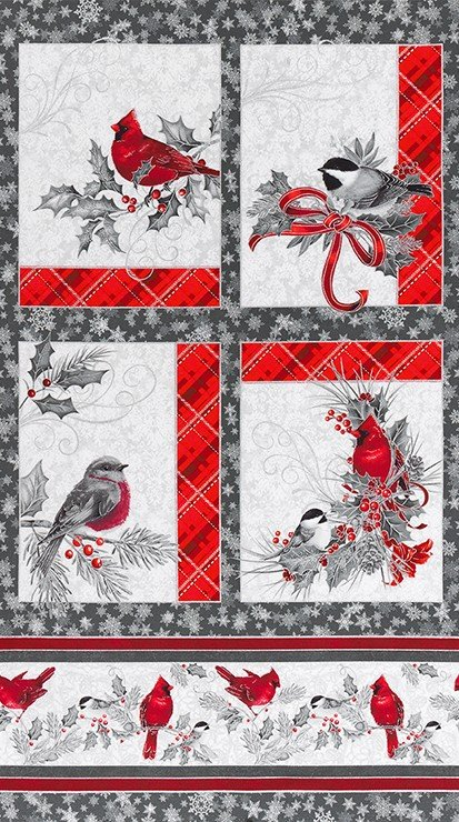 Winter's Grandeur 8 Silver Panel