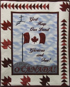 God Keep Land Quilt Pattern
