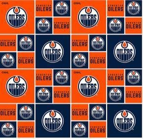 NHL Oilers ® Cotton