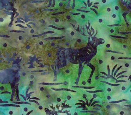 Bear Creek Batiks by Moda - River