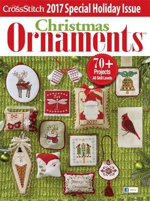 JustCrossStitch Christmas Ornaments 2017 Magazine