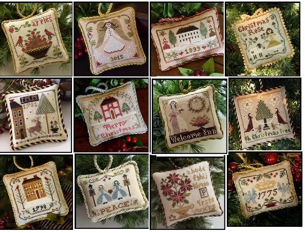 2015 Sampler Tree Ornament Series - Full Bundle