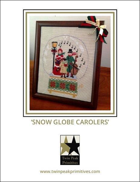 Snow Globe Carolers
