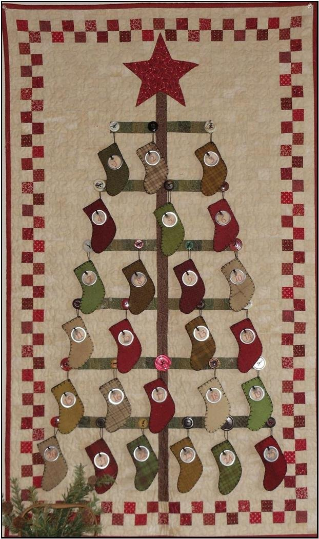 Advent Tree pattern
