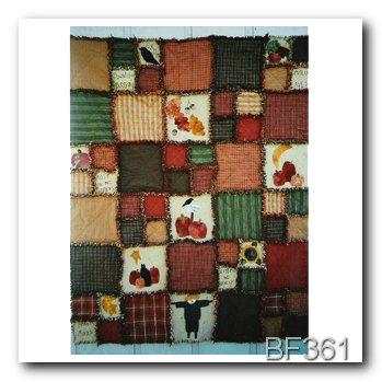 Autumn Chill Chaser Raggy Blanket