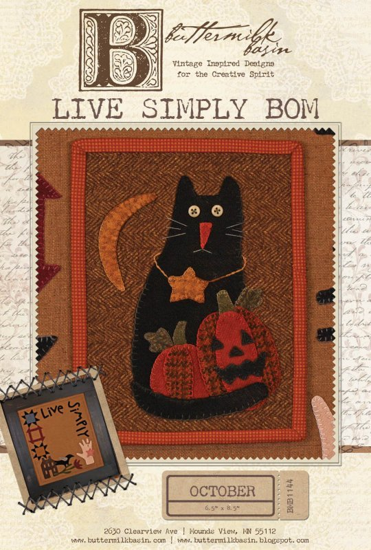 Live Simply October