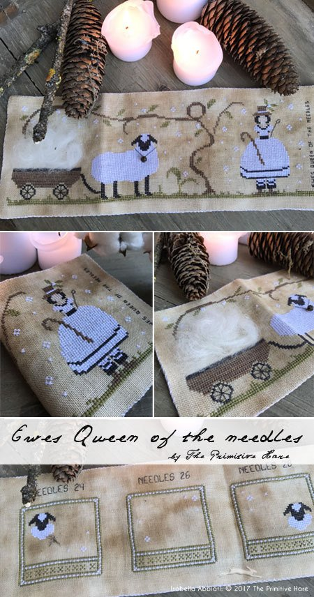 Ewes Queen of the Needles needle book