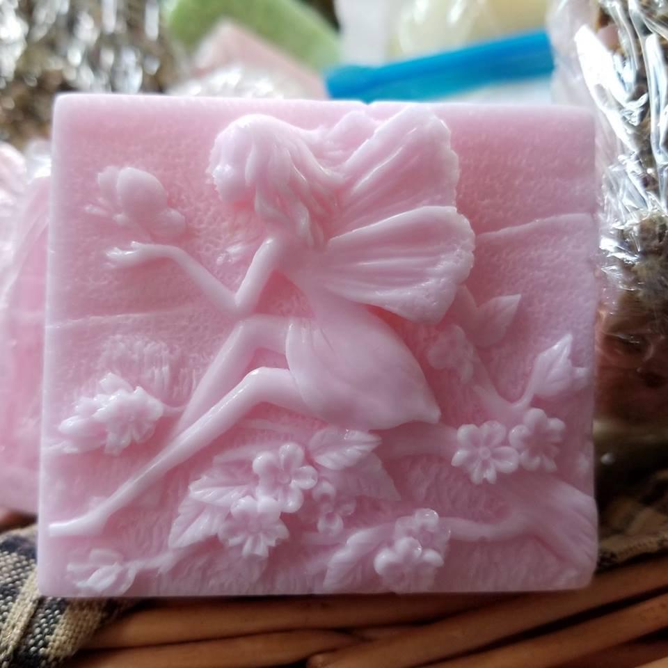 Fairy Applejack and Orange Peel Goat's Milk Soap