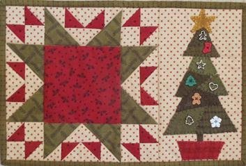 Crazy Christmas Tree Candle Mat