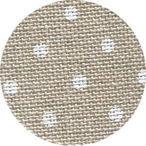 32 Ct Petit Point Raw/white linen