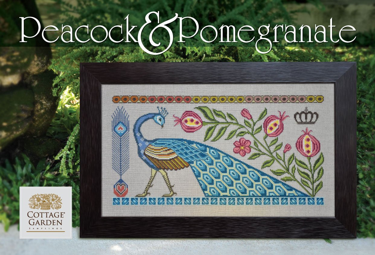 Peacock & Pomegranate