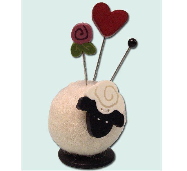 Sherry Sheep (Button Buddies)