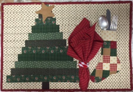 Christmas Placemat pattern