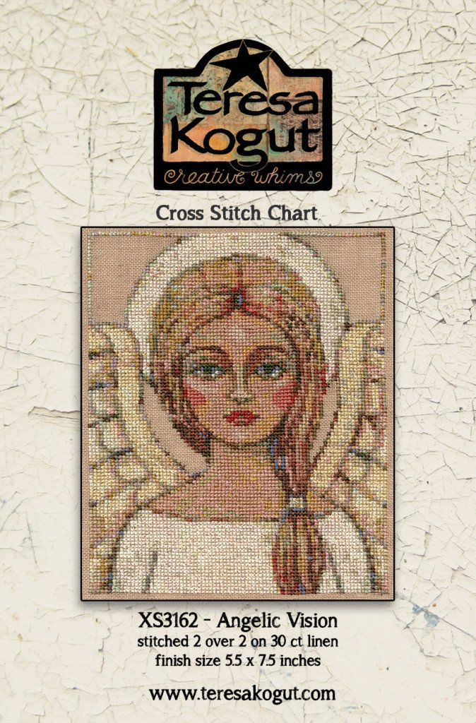 Angelic Vision counted cross stitch pattern