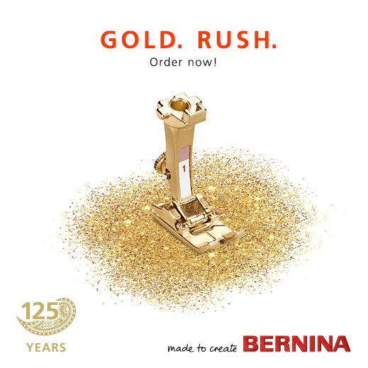 Bernina 125th Anniversary