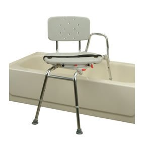 Transfer Bench with rotating and sliding seat