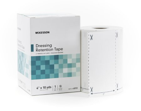 Dressing Retention Tape NonWoven Fabric / Printed Release Paper NonSterile