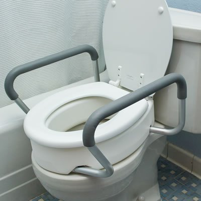 Toilet Seat Risers & Safety Rails