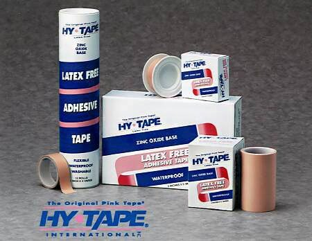 Hy-Tape Waterproof Zinc Oxide-Based Adhesive Medical Tape  NonSterile