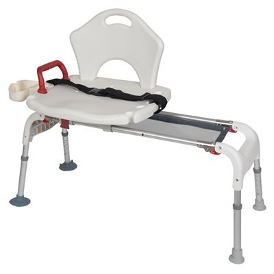 RTL12075 Tub Transfer Bench with Sliding Seat
