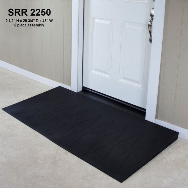 SafePath Residential Ramps, black rubber
