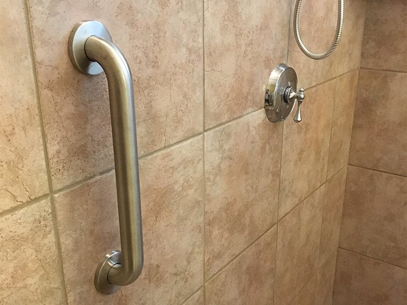 Installation of Grab Bars by AZ MediQuip
