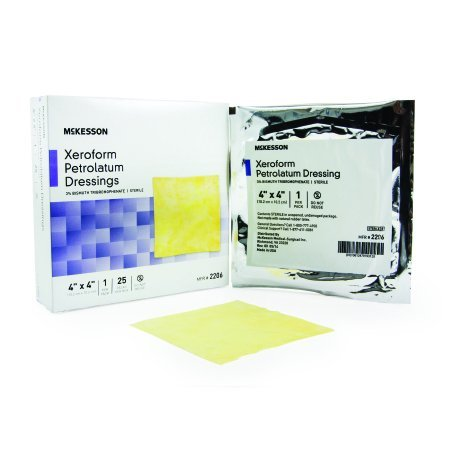 Xeroform Petrolatum Dressing Bismuth Tribromophenate Sterile Each