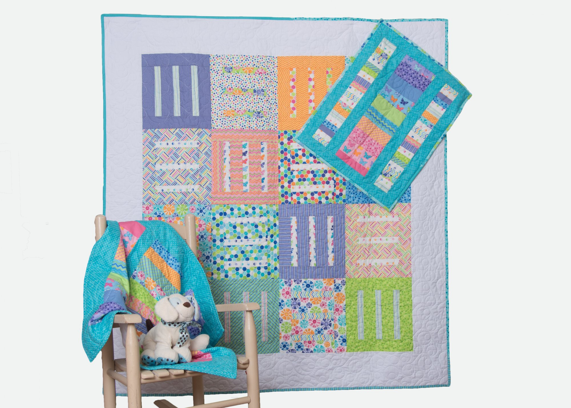 Pick-Up-Sticks Quilt PatternPHYSICAL PATTERN