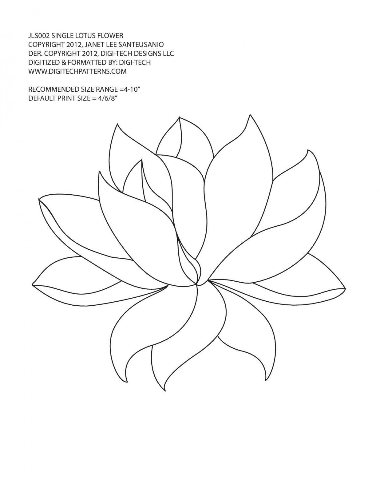 Lotus Flower-Block