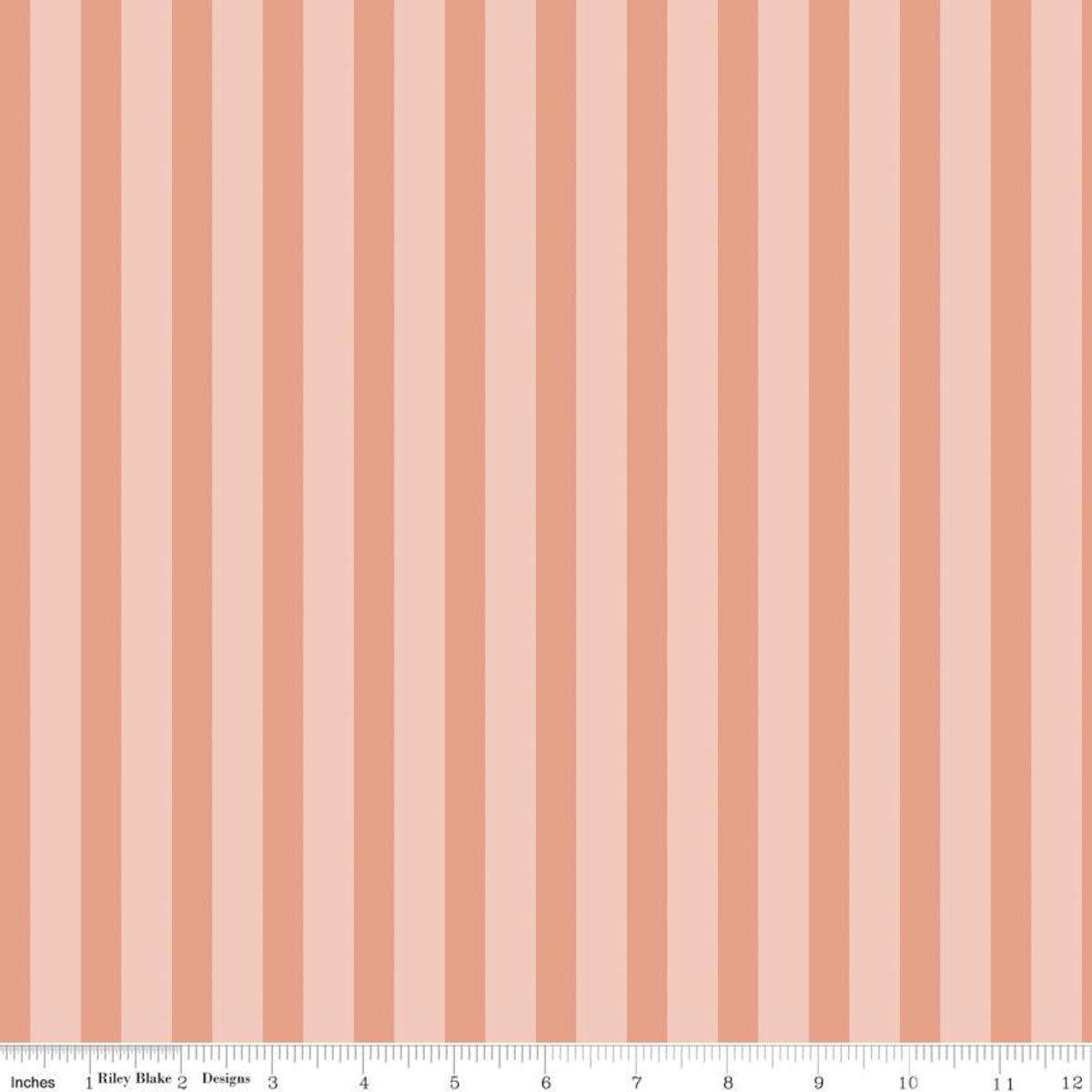 Ava Kate Stripe Blush