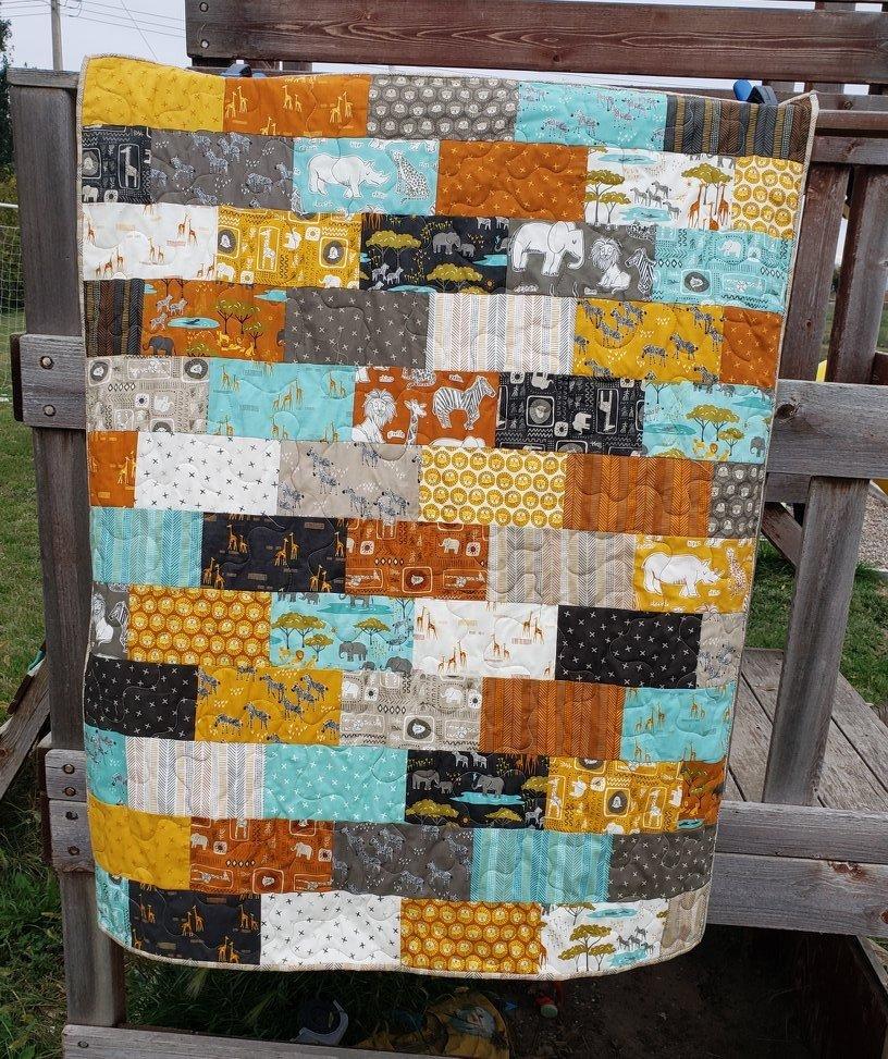 Safari Life Bricks Kit