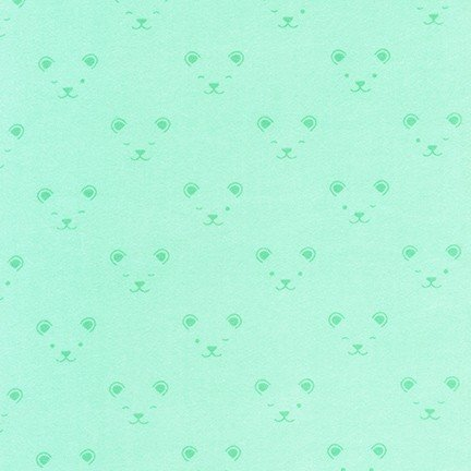 Little Savannah Flannel Bear Mint