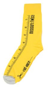 Measure Twice Socks