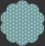 Oval Elements 925 Vintage Blue